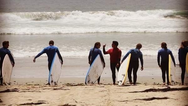 Surf en California