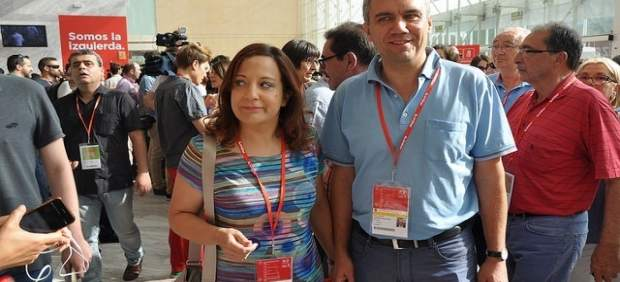 Iratxe García y Javier Izquierdo.