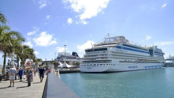 Crucero AIDAblu en Las Palmas de Gran Canaria