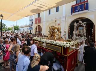 Procesión del Corpus Christi en Tomares
