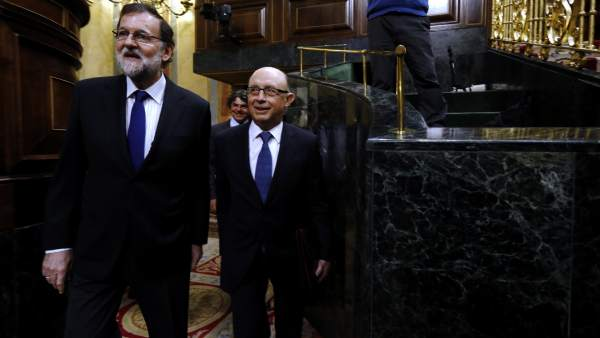Mariano Rajoy y Cristóbal Montoro