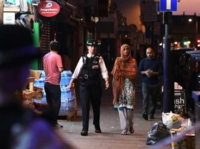 Atropello junto a una mezquita en Finsbury Park, Londres