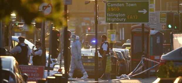 Investigadores en Londres