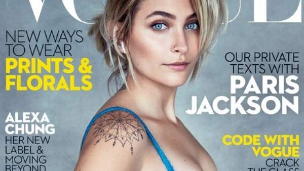 Paris Jackson en Vogue
