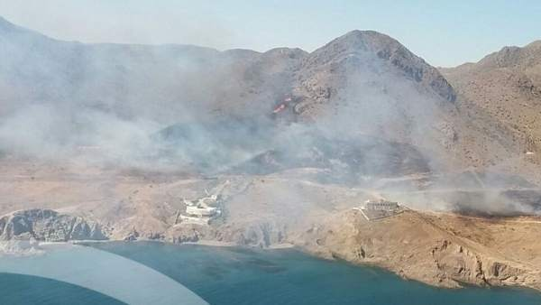 Incendio en Almería