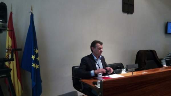 El Presidente De La Mancomunidad Cabo Peñas Y Alcalde Gozón, Jorge Suárez.