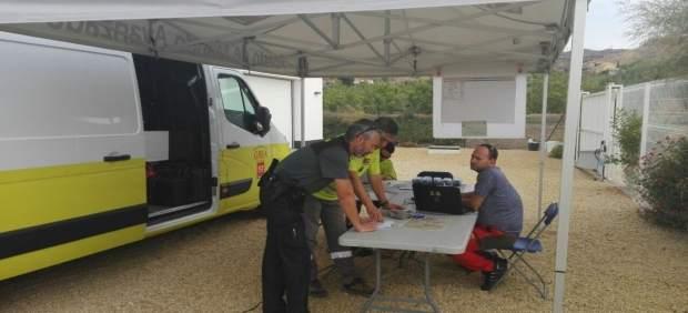 Operativo de búsqueda de un hombre en Huércal-Overa (Almería)