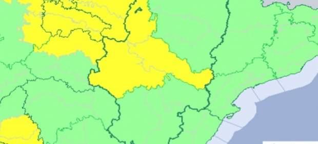 Aviso amarillo por temperaturas máximas en Zaragoza