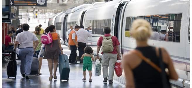 Pasajeros tren Renfe