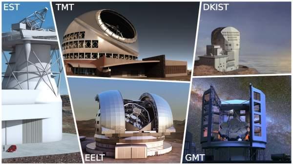Telescopios extremadamente grandes