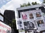 Desaparecidos en el incendio de Londres