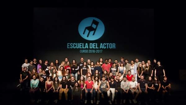 Promoción de estudiantes de la Escuela del Actor
