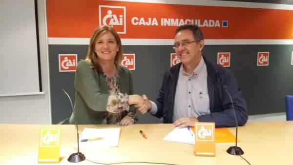 Fundación Caja Inmaculada y Cadis Huesca refuerzan su colaboración