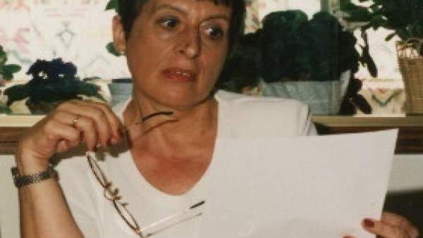 La escritora María Victoria Moreno