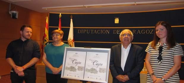Presentación de las Fiestas del Compromiso de Caspe, hoy en la DPZ en Zaragoza