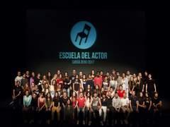 Promoció d'estudiants de l'Escola de l'Actor