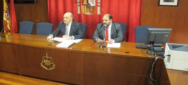 Joaquín Galve y Francisco Javier Isasi