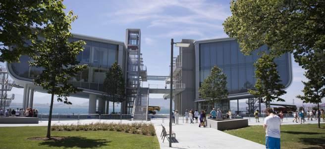 Centro Botín en Santander, creado por el arquitecto Renzo Piano