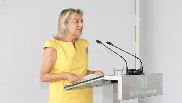 Comparecencia María Francisca Caracuel Y Mociones Pp Pleno De Diputación De Juni