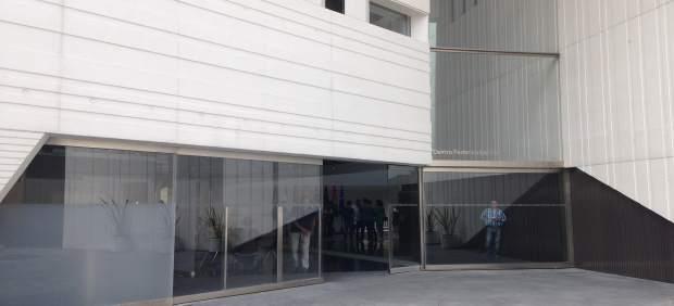 Entrada al Centro Federico García Lorca de Granada