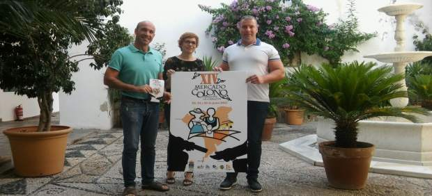 Ruz y Granados (dcha.) presentan el XIV Mercado Colono