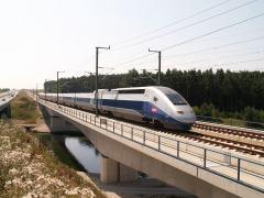 Tren de alta velocidad francés