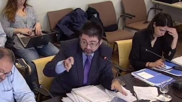 Carlos Sánchez Mato, en comisión