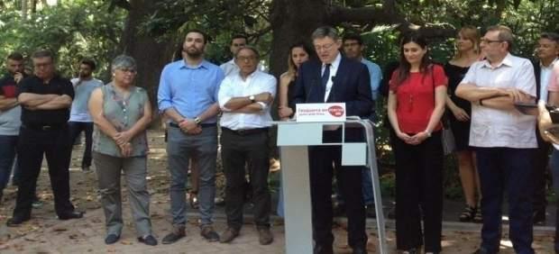 """Ximo Puig anuncia la seua candidatura per a liderar un PSPV """"fort i unit"""""""