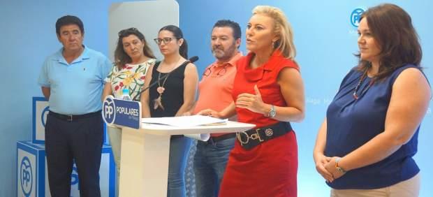 Carolina España en Rueda de prensa del PP