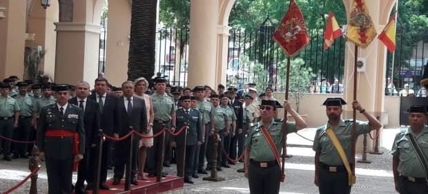 Toma de posesión de Francisco Espadad como nuevo jefe de la Guardia Civil