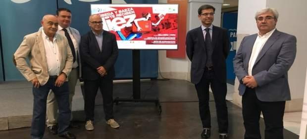 Presentación de la campaña 'Úbeda y Baeza te reciben de diez'.