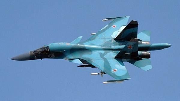 Avión de combate ruso Su-34