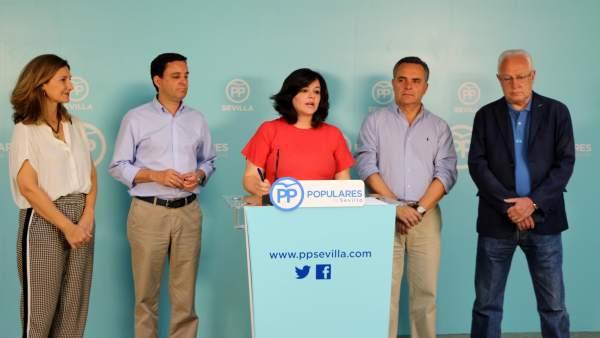 El PP de Sevilla 'suspende' a Susana Díaz.
