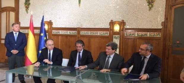 Adif i APV destinaran 84 milions a connectar Sagunt amb el Corredor i millorar la línia Sagunt-Terol-Saragossa