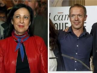 Margarita Robles y Ander Gil
