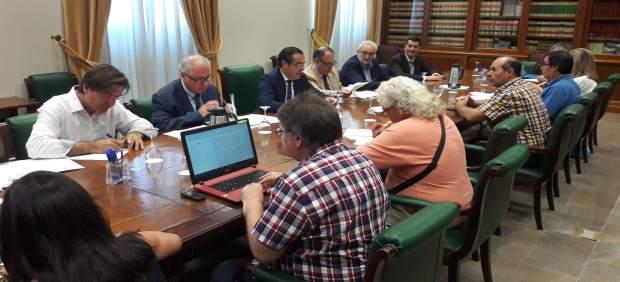 Reunion comision seguimiento profea garantía de rentas briones