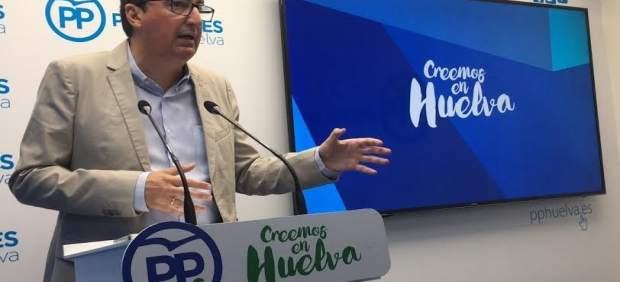 El presidente del PP de Huelva, Manuel Andrés González.