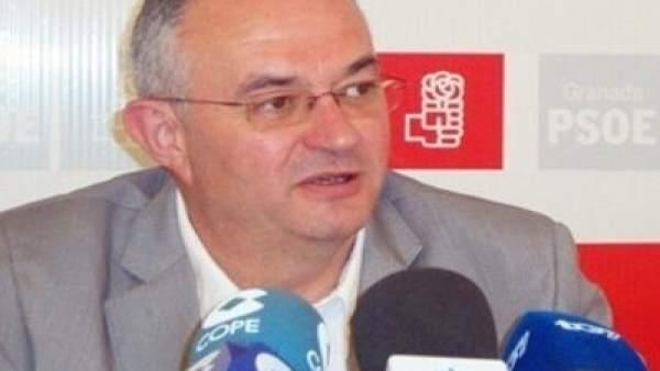 El secretario general del PSOE de Granada capital, José María Rueda.