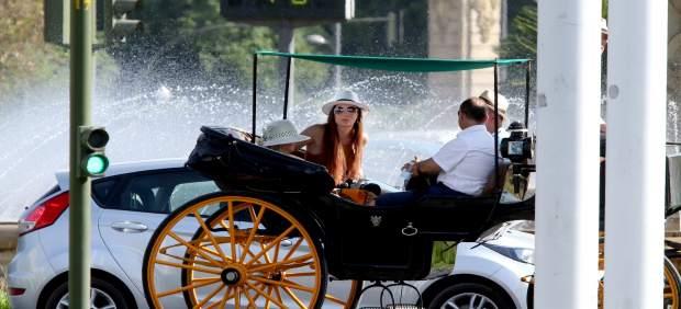Ola de calor en Sevilla