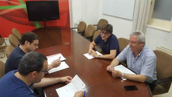 Eneko Andueza registra su candidatura