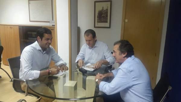 Reunión del PP con constructores y promotores