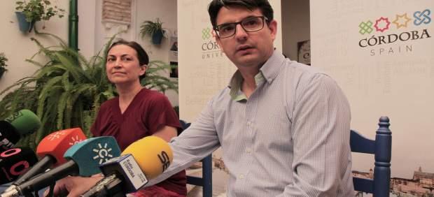 Pedro García e Isabel Galvache