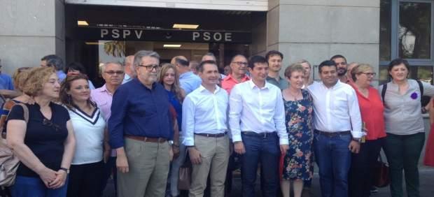Rafa García presenta su candidatura a secretario general del PSPV