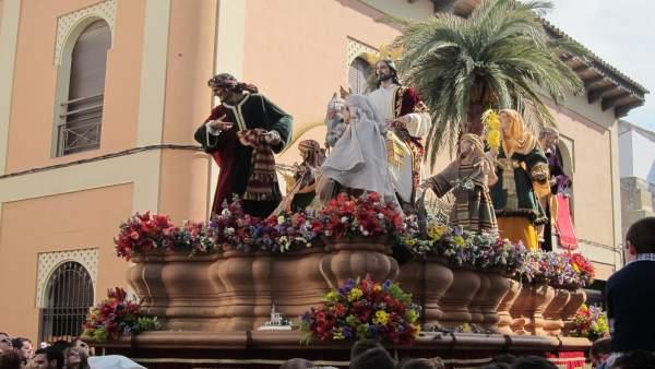 Paso De La Borriquita De Córdoba