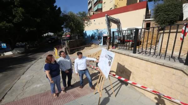 Marbella asume reconstrucción de un muro tras inundaciones