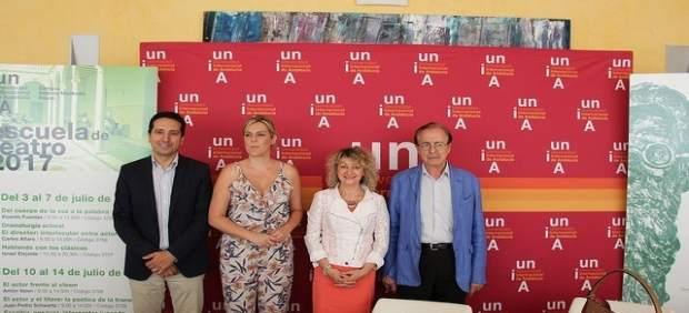 Presentación de la Escuela de Teatro de la UNIA en Baeza