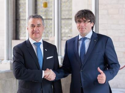 Iñigo Urkullu y Carles Puigdemont.