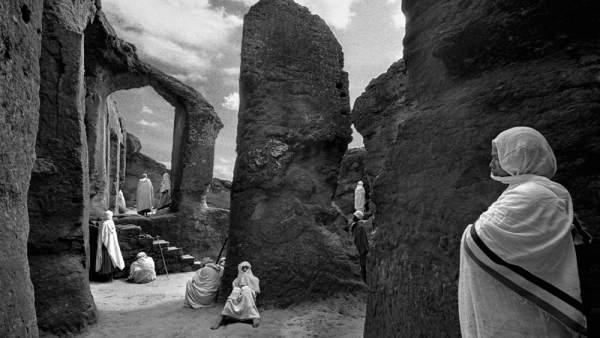 Imagen de la exposición 'Lalibela: cerca del cielo'