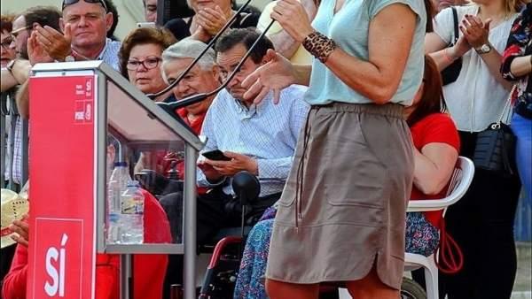 Leonor Martínez-Pereda se presentará a secretaria general del PSOE en Extremadur