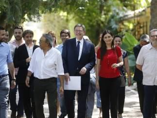 Puig presenta su candidatura a secretario general del PSPV-PSOE
